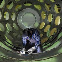 Herstellung von Industrieöfen und Verbrennungs-, Abgas- und Umwelttechnik in Industrie und Schiffbau bei der Bremer Firma Saacke.