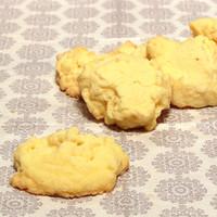 Kekse die aussehen wie Schneeflocken