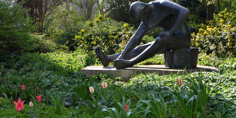 Statue im Utbremer Grün