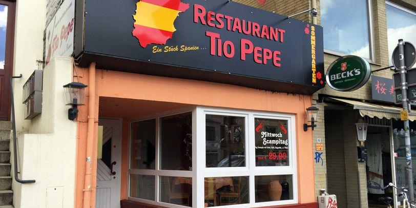 Das Restaurant Tio Pepe in Bremen