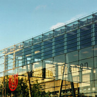 Uni Bremen Glasgebäude und Fallturm