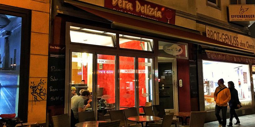 Fassade des Restaurants Vera Delizia