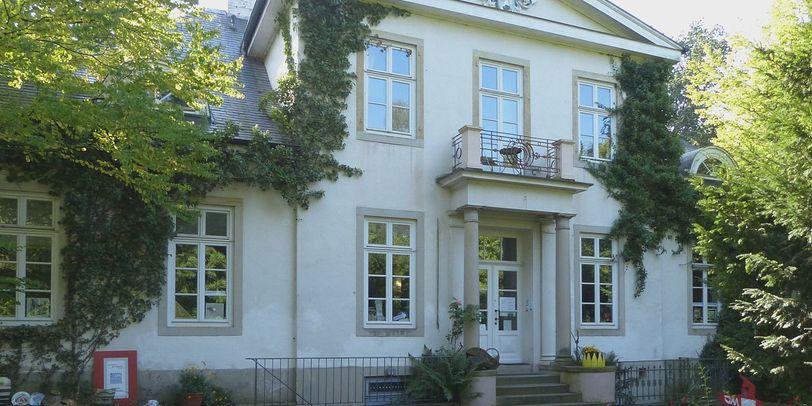 Außenansicht der Villa Lesmona