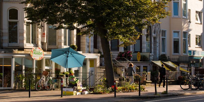 Sonnenschein in der Wachmannstraße