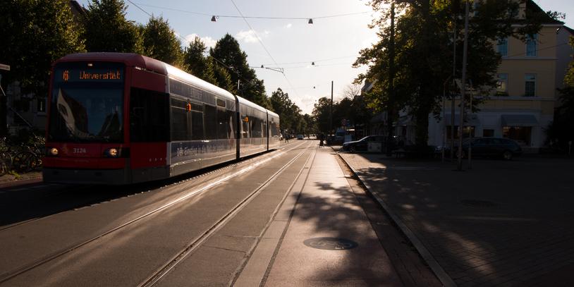 Blick in die Wachmannstraße
