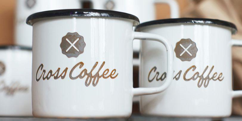 Nahaufnahme von zwei Kaffeetassen