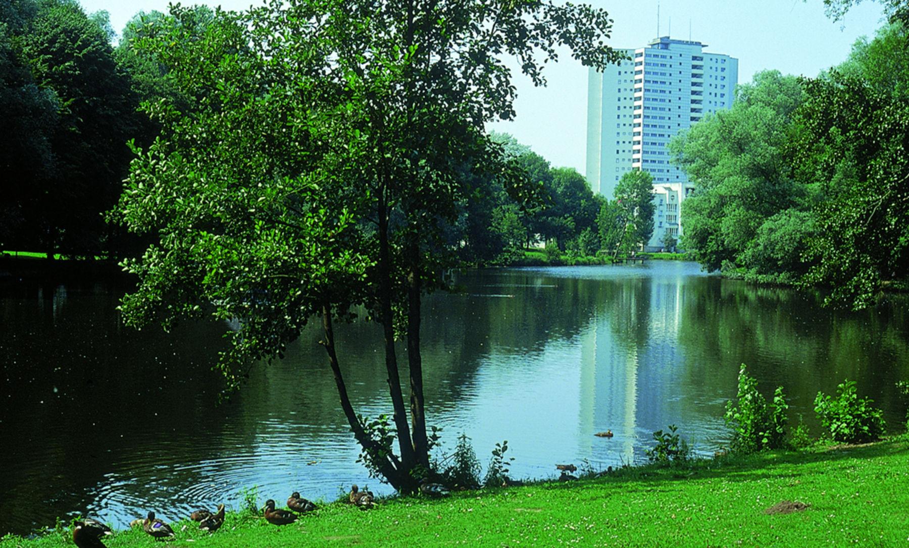 Urbanes Wohnen in der Vahr mit Entspannung am Vahrer See