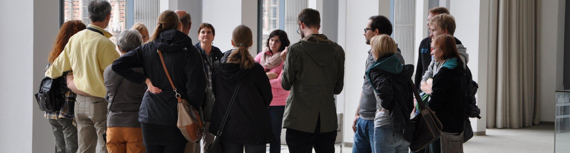 Besuchergruppe in der Bremischen Bürgerschaft (Quelle: Bremische Bürgerschaft)