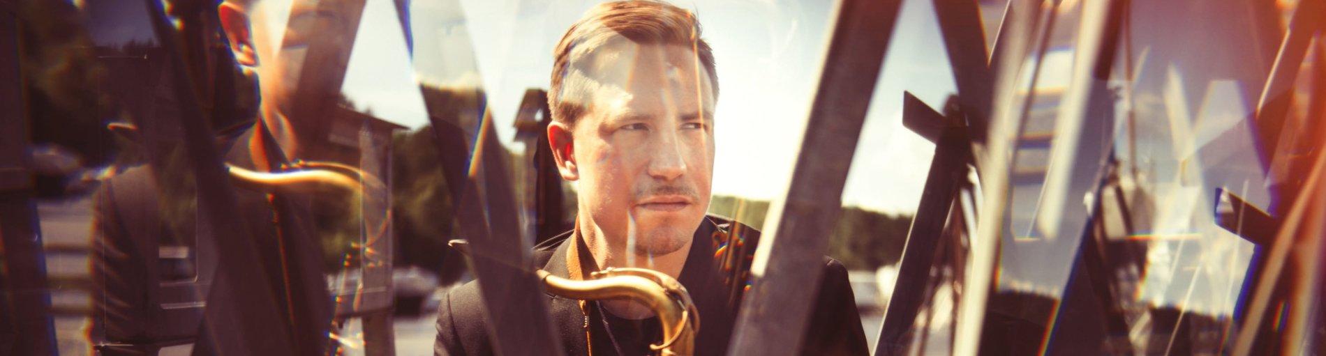 Der norwegische Jazzmusiker Håkon Kornstad