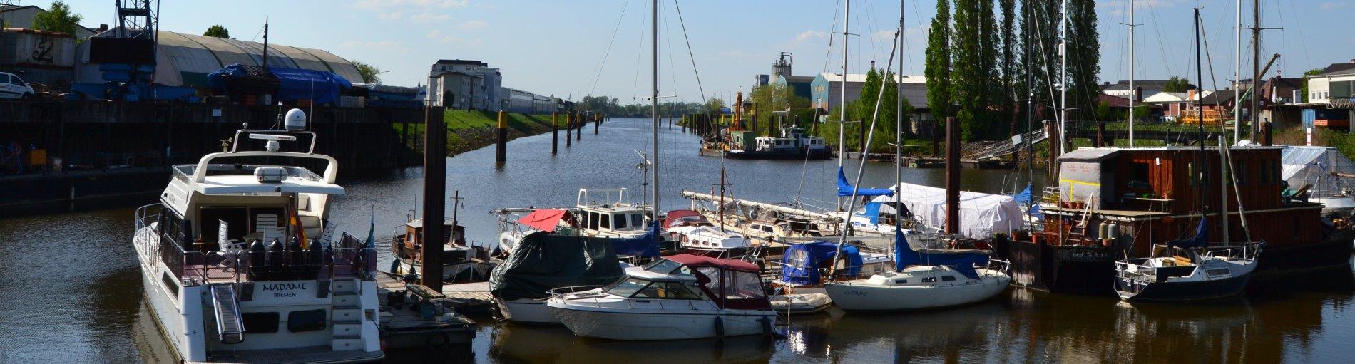 Blick auf den Neustädter Hafen