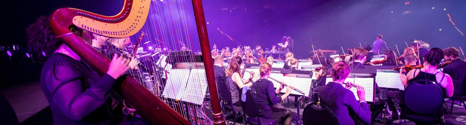 Ein musikalischer Act bei Night of the Proms.