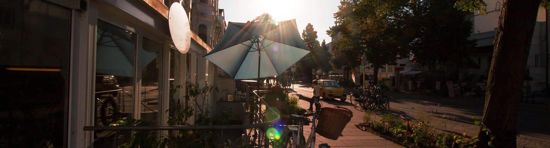 Blick in die Wachmannstraße in Bremen Schwachhausen