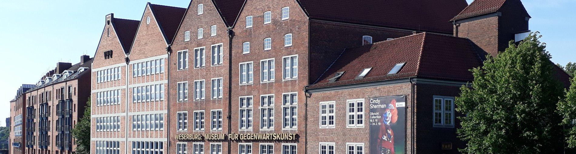 die Fassade der Weserburg