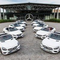 Zehn Modelle werden im Mercedes-Benz Werk Bremen gefertigt (Quelle: Daimler AG).