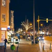 Straße in Bremen Gröpelingen