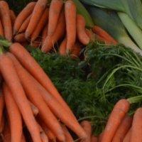 Gemüse in der Auslage auf dem Markt; Quelle: bremen.online GmbH - MDR