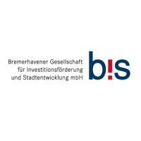 Schriftzug: BIS Bremerhavener Gesellschaft für Investitionsförderung und Stadtentwicklung mbH
