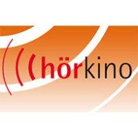 """Logo mit Schriftzug """"hörkino"""""""