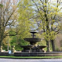 Großer Brunnen im Bürgerpark.