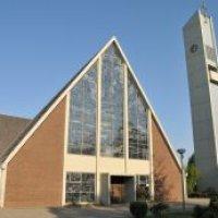Die Melanchton Kirche in Osterholz
