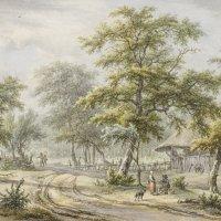 Egbert von Drielst, Weg zum Gehölz, Kunsthalle Bremen - Der Kunstverein in Bremen, Kupferstichkabinett