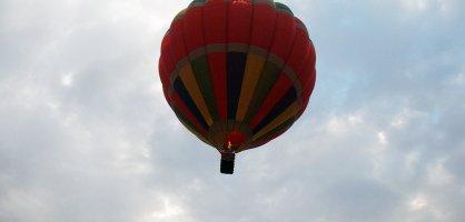 Heißluftballon in der Luft (Quelle: K. Bünn/bremen.online GmbH)