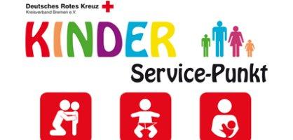 Das Logo des Services Kinder Punkt