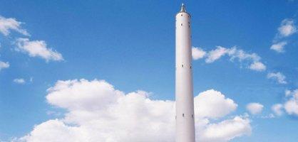 Der Fallturm im Technologie-Park Bremen