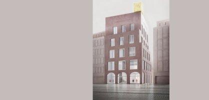 Entwurf des künftigen Johann-Jacobs-Hauses