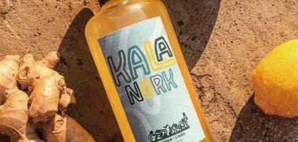 Eine Flasche KALA-NORK