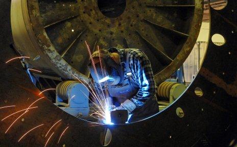 Industriearbeit (Quelle: WFB/Frank Pusch)
