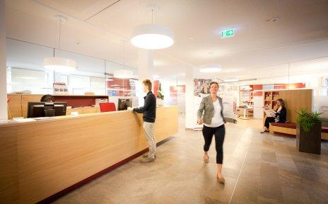 Menschen im Unternehmensservice Bremen