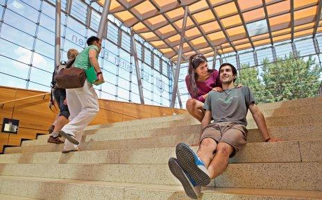 An der Universität Bremen macht das Studieren richtig Spaß! (Quelle: WFB Wirtschaftsförderung Bremen GmbH/T. Vankann)