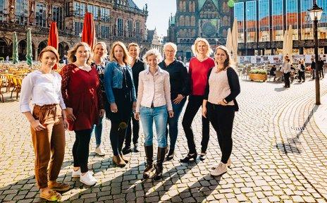 Service-Team der Bremen-Profis