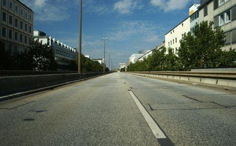 Kein Verkehr auf der Hochstraße - bremen.online GmbH - bko - www.flickr.com/photos/bkodenkt