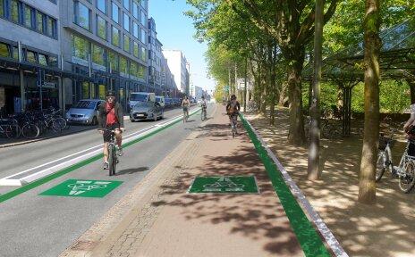 Wallring Fahrrad Premiumroute Visualisierung