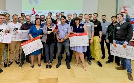 Die Preisträgerinnen und Preisträger der CAMPUSiDEEN 2019.