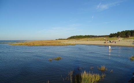 Strandabschnitt in Cuxhaven-Sahlenburg.