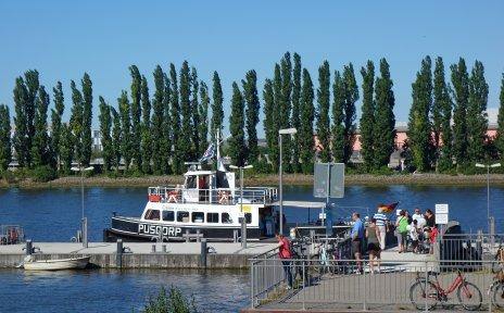 Weserfähre Pusdorp am Lankenauer Höft