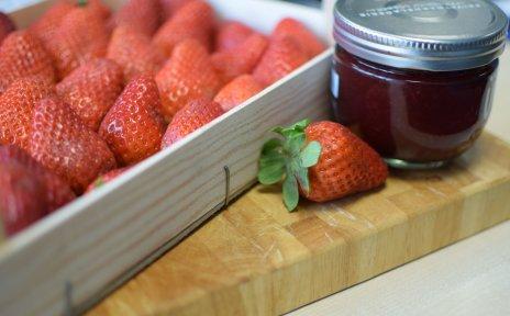 Erdbeer-Prosecco-Konfitüre
