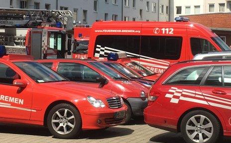 Kleinere Fahrzeuge der Feuerwehr Bremen