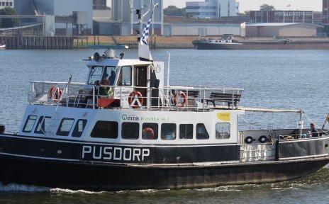 Weserfähre Pusdorp auf der Weser