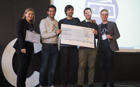 Die Gewinnerinnen und Gewinner der Jacobs Startup Competition 2020.
