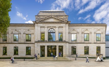 Kunsthalle Bremen von außen