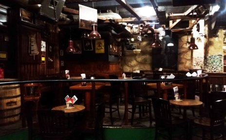 Innenraum des Meisenfrei Blues Clubs.