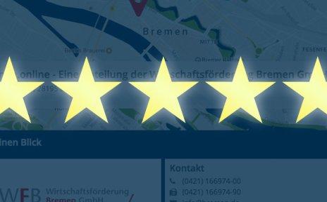 Optimieren Visitenkarte bremen.de