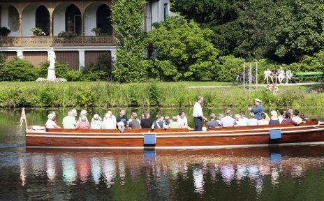 Schifffahrt mit der Marie im Bürgerpark Bremen