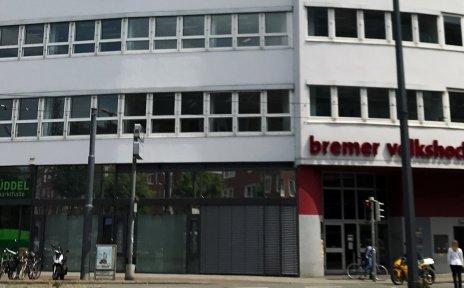 Außenansicht des Bamberger Hauses, in dem sich die Bremer Volkshochschule befindet.