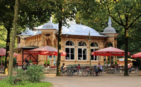 Blick auf die Waldbühne im Bürgerpark