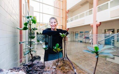 Foto von Frau Dr. Véronique Helfer im ZMT
